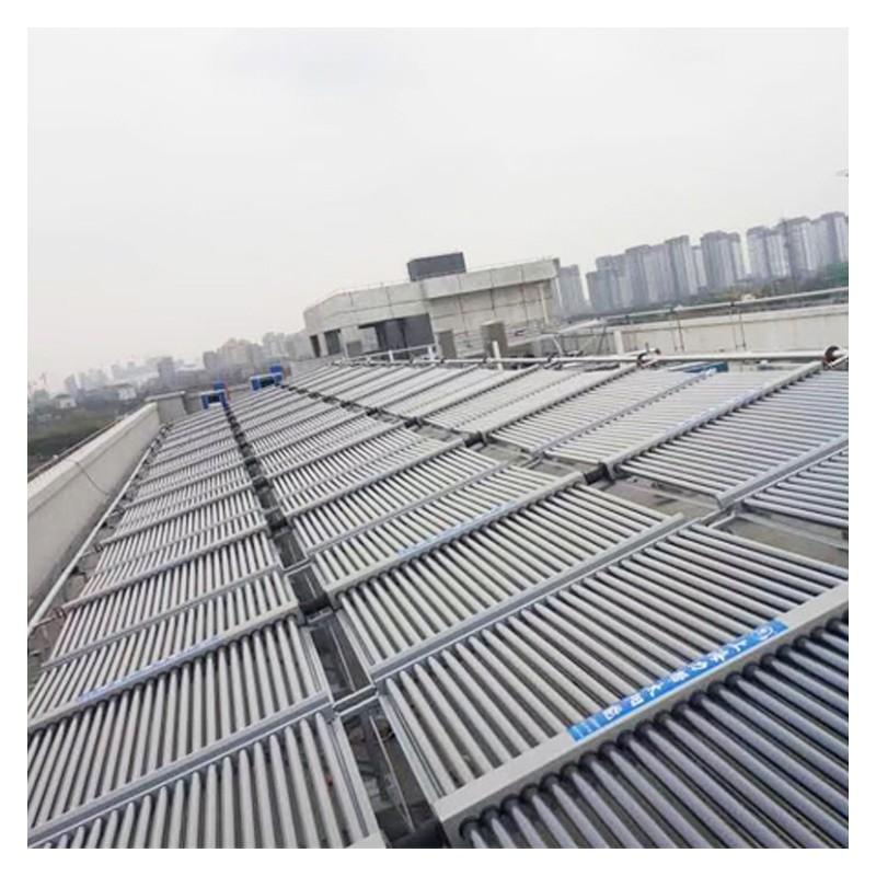 广西太阳能热水器 商用太阳能热水器安装 24小时全天候承压运行热水器