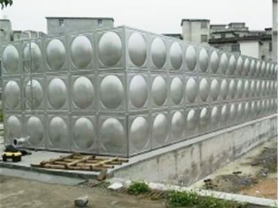 玉林不锈钢水箱 25吨不锈钢水箱定制 规格定制水箱生产厂