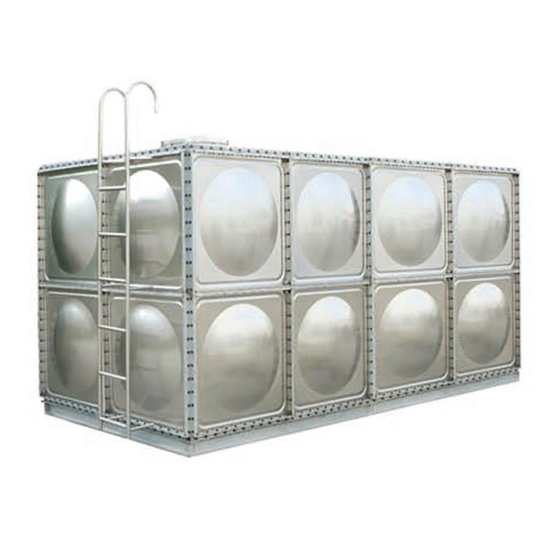 广西不锈钢水箱 方形保温水塔不锈钢消防水箱