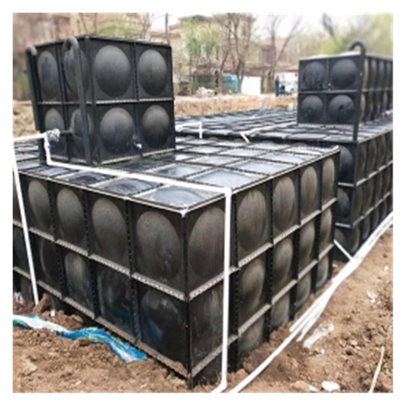 广西不锈钢水箱厂家供应 方形保温水塔不锈钢消防水箱