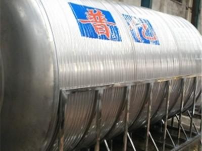梧州水塔厂家 15立方水塔定做厂 定制不锈钢保温水塔价格