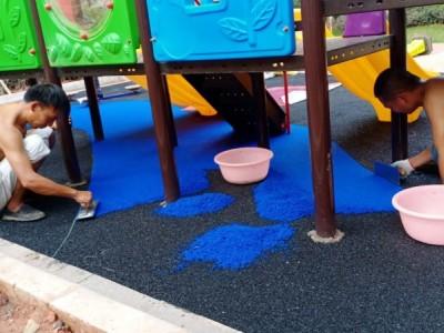 广西小区EPDM幼儿园地面-EPDM安全地垫施工