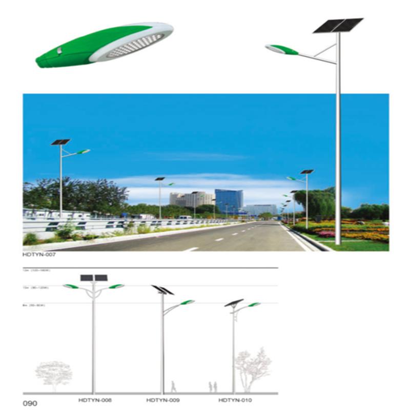 南宁市市政照明道路灯杆_6米灯杆