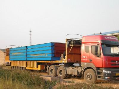 地磅生产厂家 10吨地磅秤 农产品称重地磅汽车衡价格