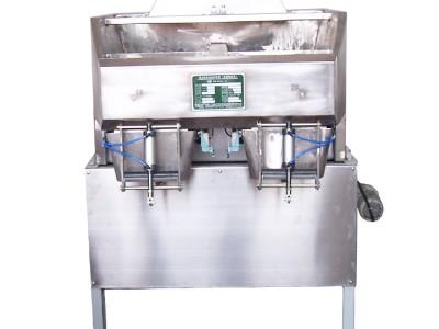 南宁华星包装秤包装机 HX4401型高精准包装秤 化工粉状物料包装秤
