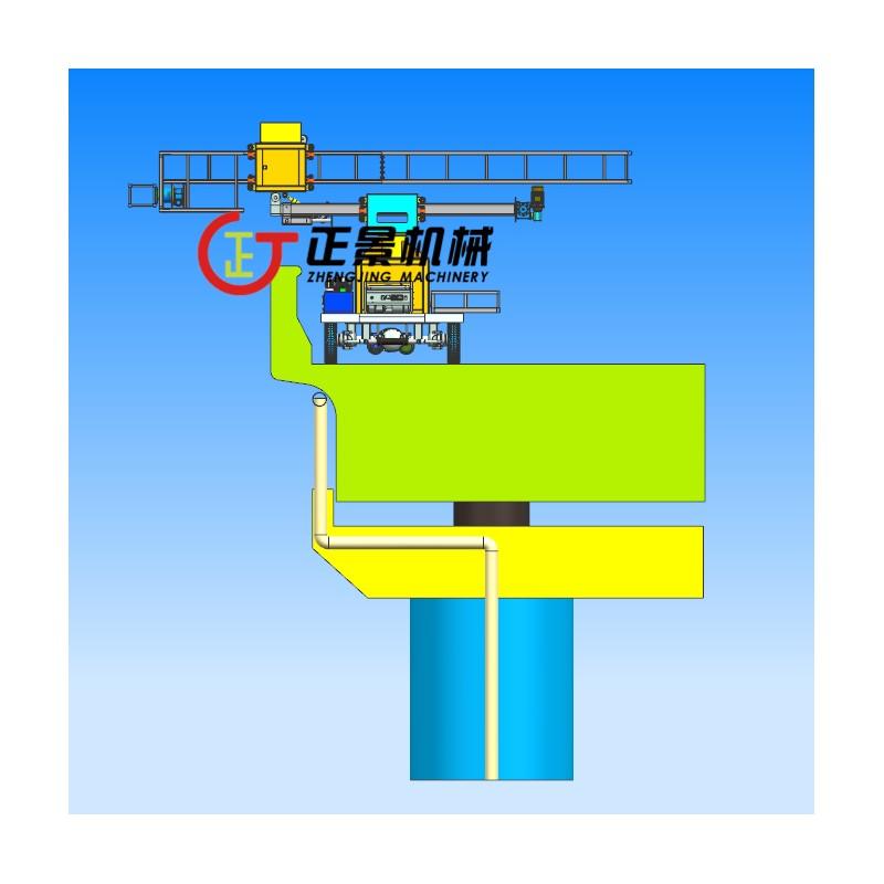 桥面雨水管安装操作平台 效率高速度快
