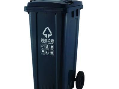 河池小区塑料垃圾桶多少钱一个_分类垃圾桶批发
