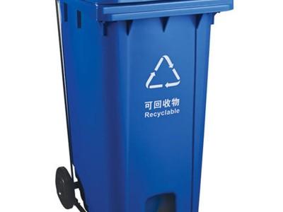 北海小区物业分类垃圾桶多少钱_240L加厚垃圾桶