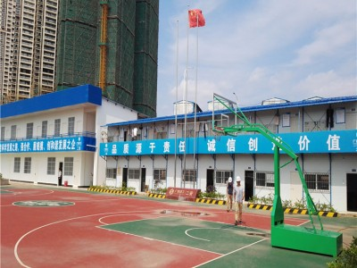 活动房安装公司 市内建筑工地活动房 轻钢活动板房施工队
