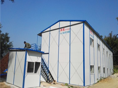 活动板房厂家 职工宿舍活动房施工安装 整体性生活区用活动房