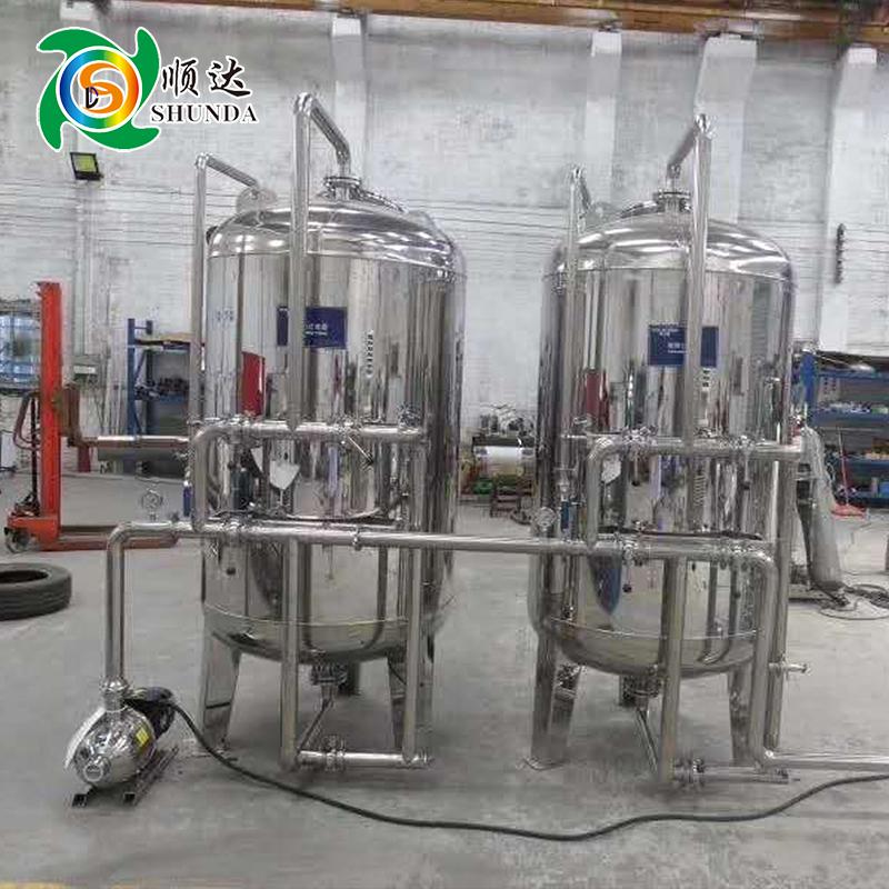 工业纯水设备 单双级反渗透纯水处理设备 纯化水设备 水处理设备