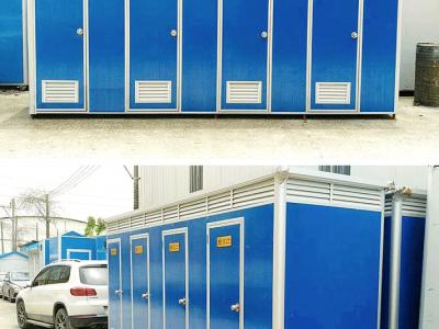 广西移动卫生间厂家批发 南宁移动卫生间定制 景区移动厕所 宏宇厂家可定制