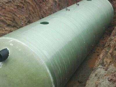 贵港市玻璃钢化粪池生产厂家 新型三格式化粪池 隔油池厂家批发