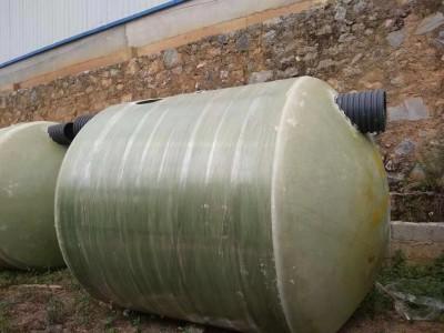 玉林市玉洲区玻璃钢化粪池生产家 新型三格式化粪池价格