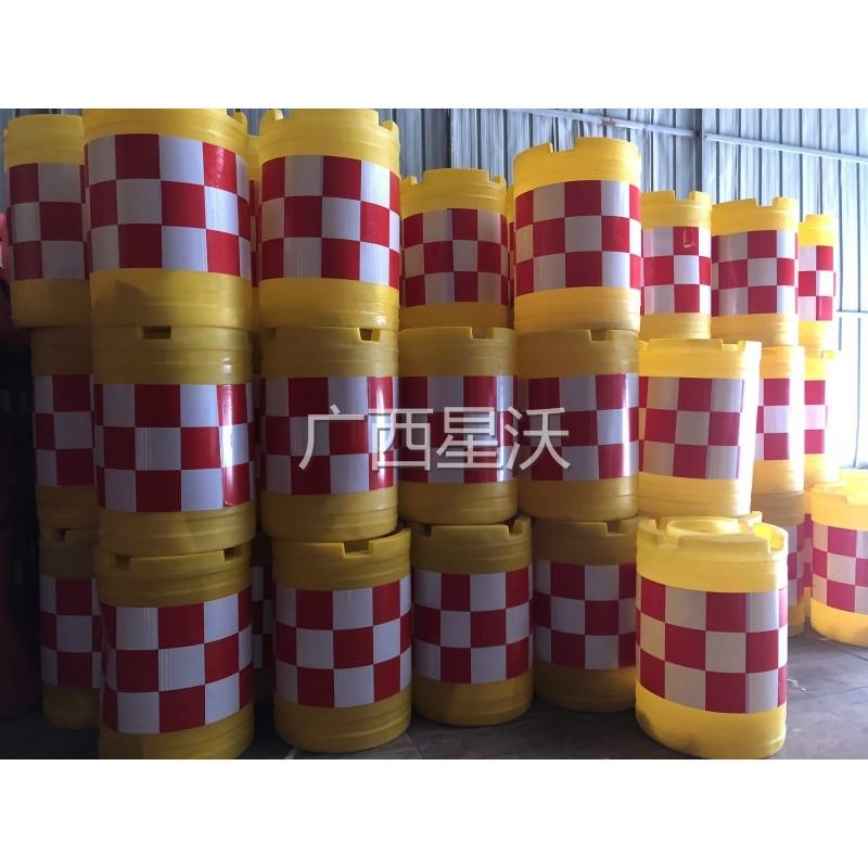 吹塑防撞桶交通滚塑防撞桶反光桶