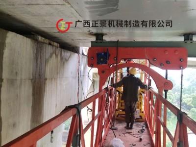 铁路桥梁悬臂检修车