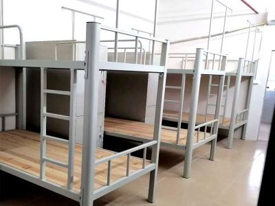 南宁上下铺公寓铁架床_学生公寓厂工厂