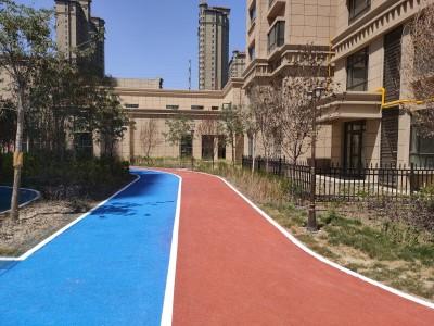 广西南宁公园彩色透水混凝土-广西透水地坪包工包料