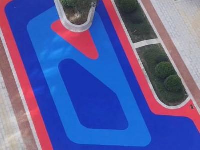 防城港公园游乐园EPDM橡胶地面-防城港幼儿园EPDM跑道