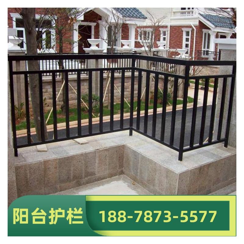 广西阳台护栏安装厂 小阳台栏杆定制 锌钢阳台护栏 支持免费安装