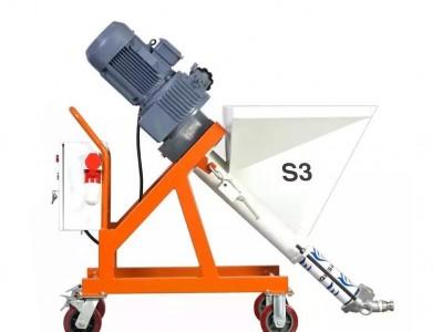 厚型隧道防火涂料喷涂机三旗S3厚型钢结构防火涂料喷涂机 工程喷涂