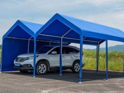 移动停车棚厂家 防风防雨防晒 加厚篷布