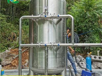 广西厂家井水地下水处理设备 0.5-150t304不锈钢预处理机械过滤罐 石英砂活性炭树脂软化罐 可定制