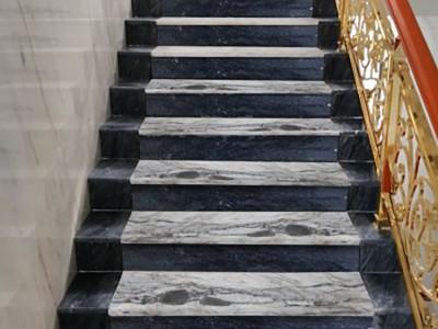 大理石楼梯踏步板厂家批发 广西白大理石现货处理