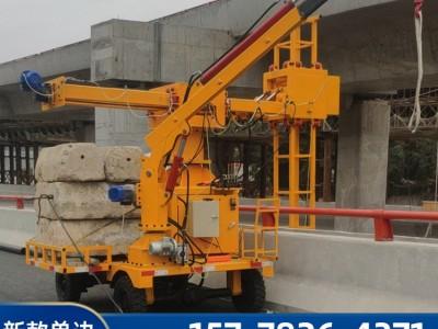 龙河高速公路桥梁上面安装排水管的设备 厂家热卖
