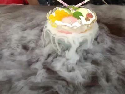 重庆餐饮酒店食品干冰    柱状烟雾干冰     冷饮干冰