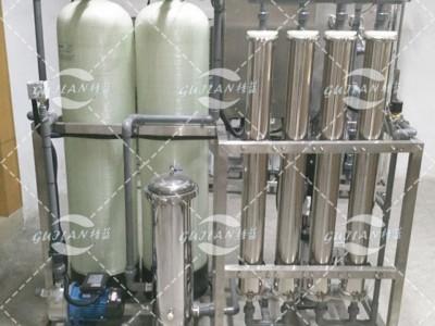 广西供应1吨原水处理设备医院净水直饮机RO反渗透高纯水净水器质量牢靠