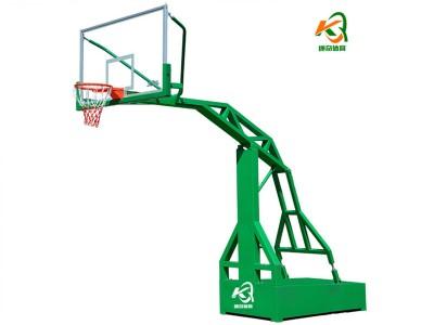 篮球架运动健身器材厂家220圆管篮球架健身 出厂价格 配套钢化玻璃 弹簧篮筐