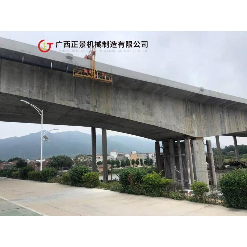 全国斜拉桥梁排水管安装平台 桥梁雨水管道安装设备