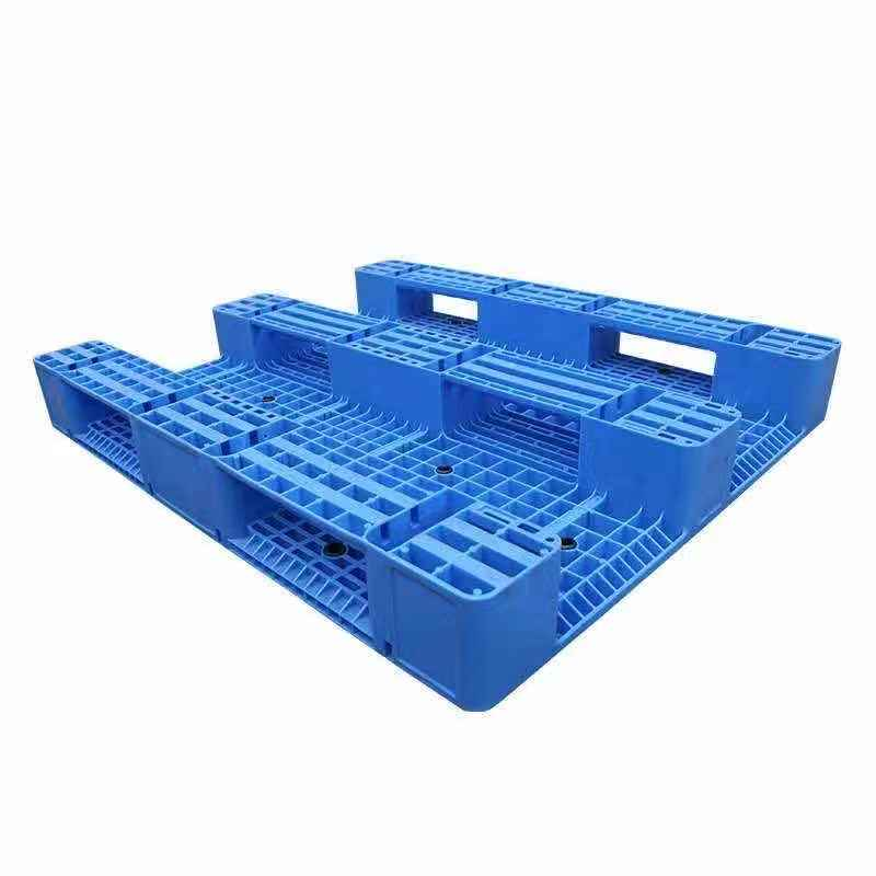 塑料托盘生产厂家 南宁物流托盘  网格川字塑料卡板 防潮垫板
