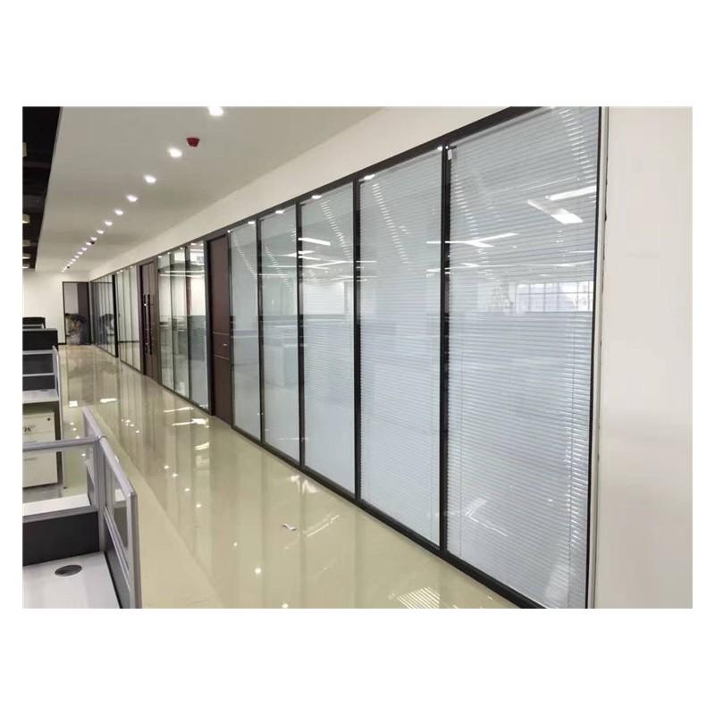 广西玻璃隔断  办公室百叶移动隔断 玻璃隔断厂家直销