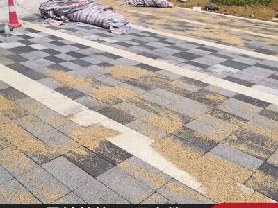 仿石芝麻透水砖  pc砖厂家批发   湖南透水砖