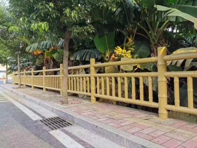 广西仿木水泥栏杆景区仿木栏杆 河道仿木护栏