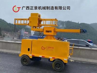 桥梁横水管与立水管一起安装排水管的设备