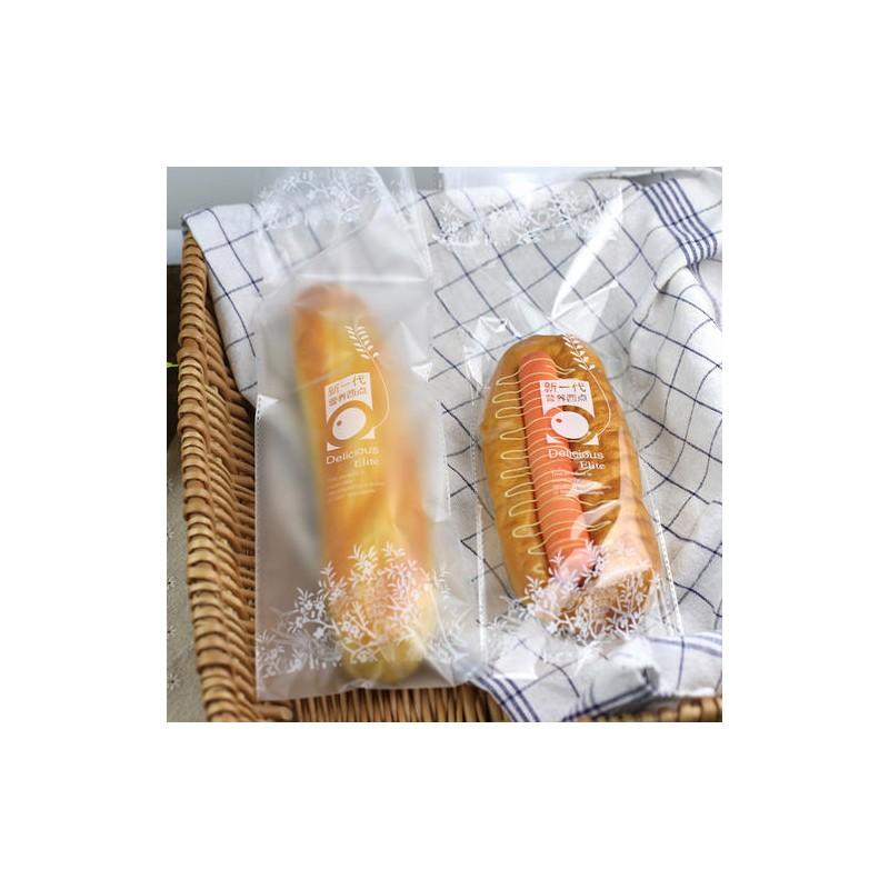 广西南宁塑料包装袋 面包包装pe透明餐包袋生产厂