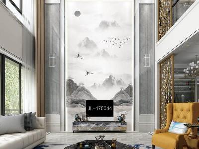 云南背景墙厂家 集成墙板价格 床头背景墙定制 复式背景墙