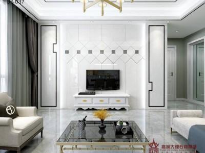 南宁集成墙板厂家 背景墙的价格 黑白灰简约风格背景墙