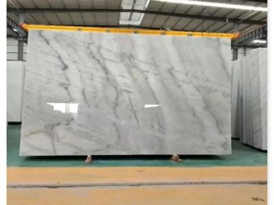灰色大理石有哪些 原材料布鲁斯灰现货大板批发