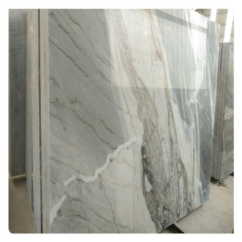 客厅灰色大理石原材料布鲁斯灰石材批发