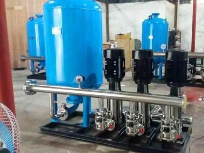 柳州无负压供水设备厂家 广西无塔供水设备的功能特点 学校单位专用无负压供水设备
