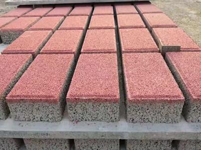 南宁路面海绵砖批发  广西海绵砖价格  海绵砖厂家供应
