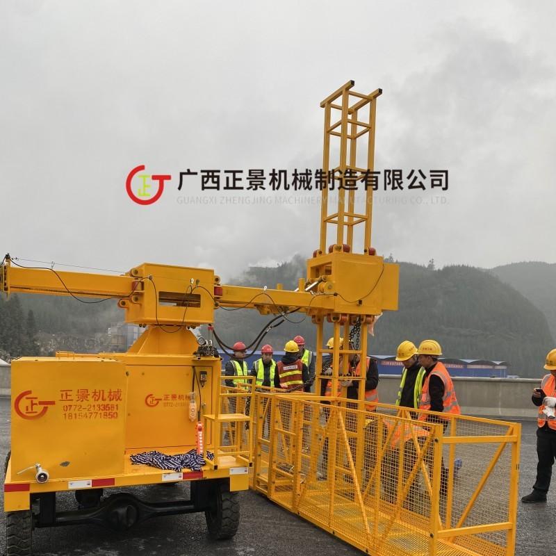 折叠臂式桥梁检测车-桁架式桥梁检测车-新型桥梁检测车