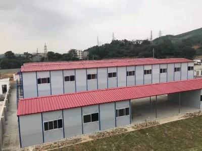 柳州彩钢活动板房价格 建筑工地临时住人活动板房 集装箱活动板房直销