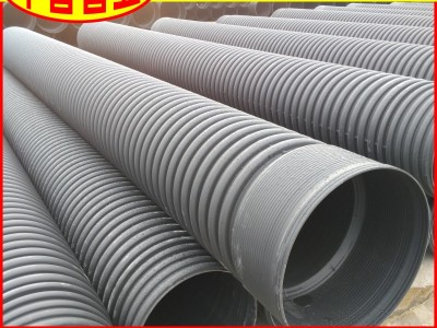 【工厂直供】海南省HDPE波纹管DN200环刚度四级高铁用排水管
