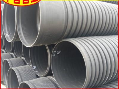【工厂直供】广东省HDPE波纹管DN200环刚度四级高铁用排水管