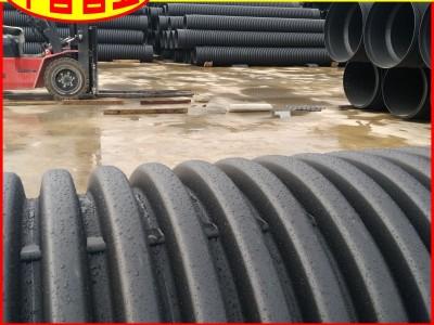 【工厂批发】PE波纹管DN160SN8河道整治用排污波纹管